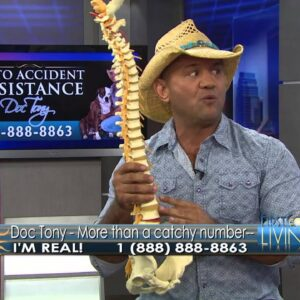 Jacksonville Back Pain Relief; Injured in an Auto Accident? Call Doc Tony