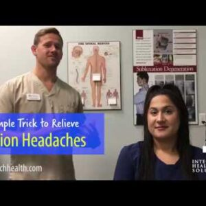 Jacksonville FL Chiropractor - A Simple Trick to Relieve Tension Headaches