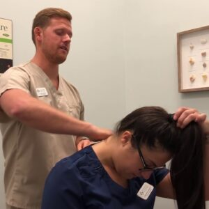 Jacksonville FL Chiropractor - Whiplash Therapy Demonstration