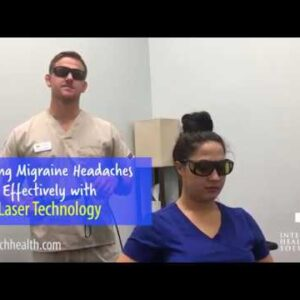 Jacksonville Beach FL Chiropractor - Treating Migraine Headaches Effectively with Laser Technology