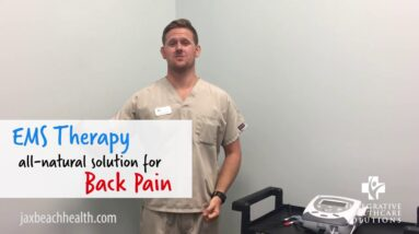 IHS - All-Natural Low Back Pain Solution: EMS Therapy - Jacksonville Beach FL